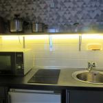coin cuisine Appartement Durieux III Studio-28m2 Aix les Bains