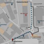 Appart proximité Itinéraire Parking Durieux III